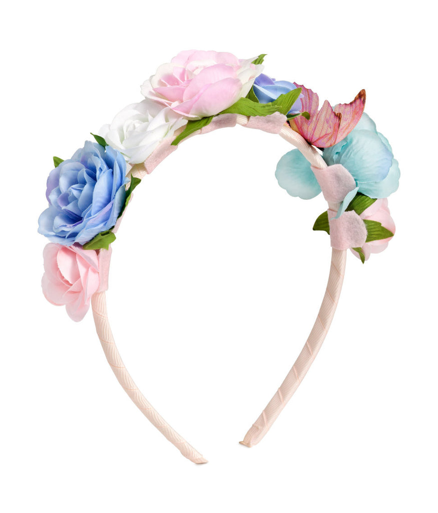 Costume Accessories - Hairband with Flowers - PitaPats.com