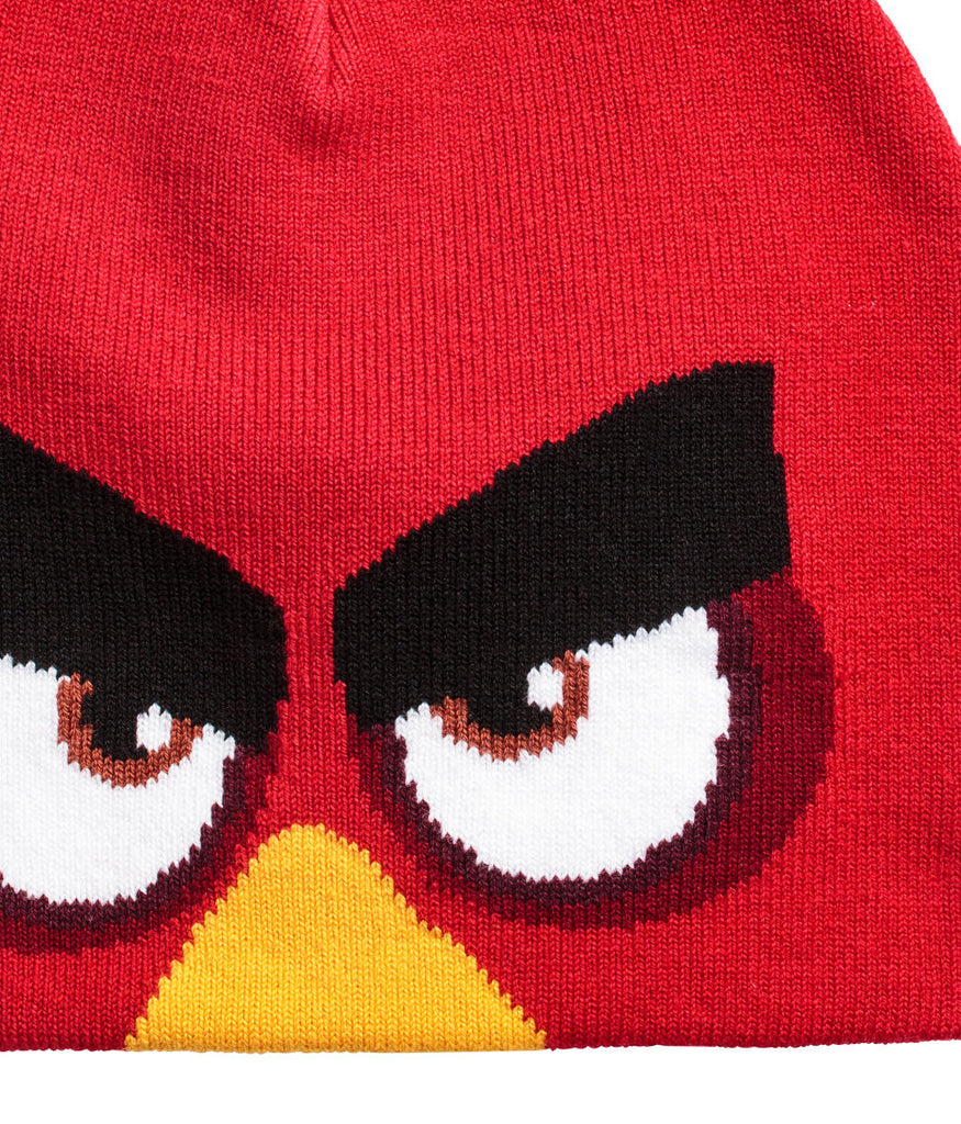 Jacquard-knit Beanie Hat Angry Birds - PitaPats.com