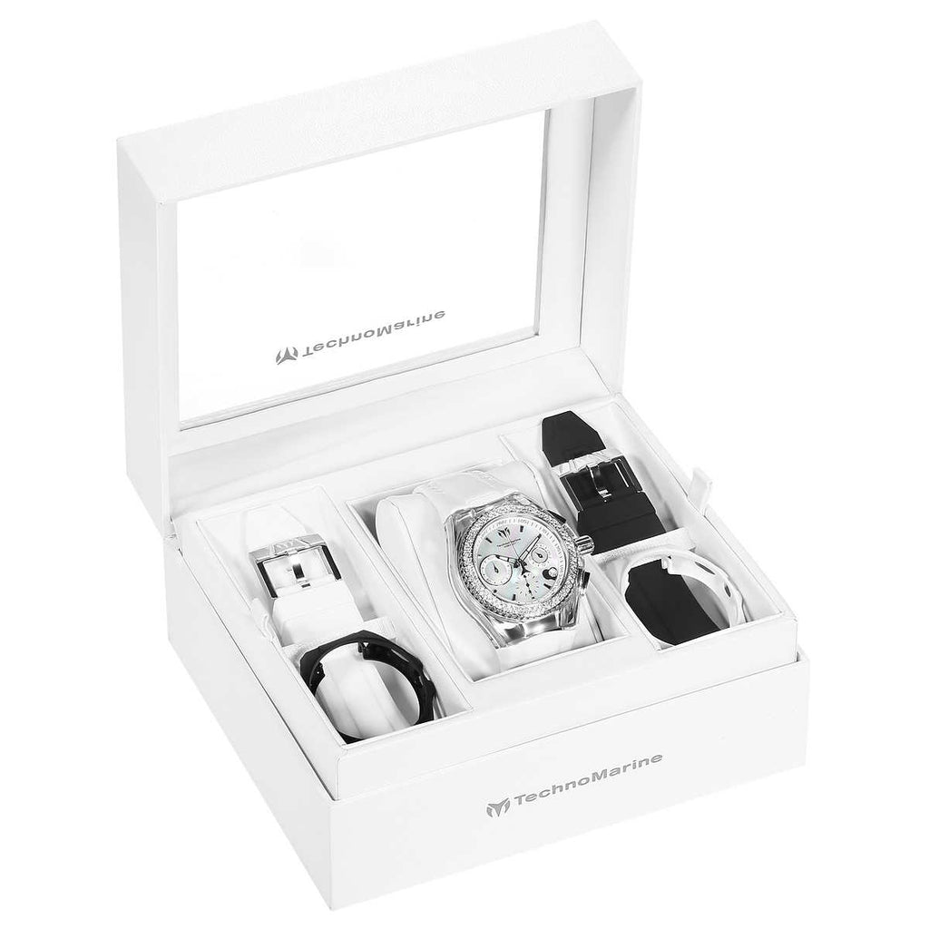 TechnoMarine Cruise Women's Watch Set - PitaPats.com