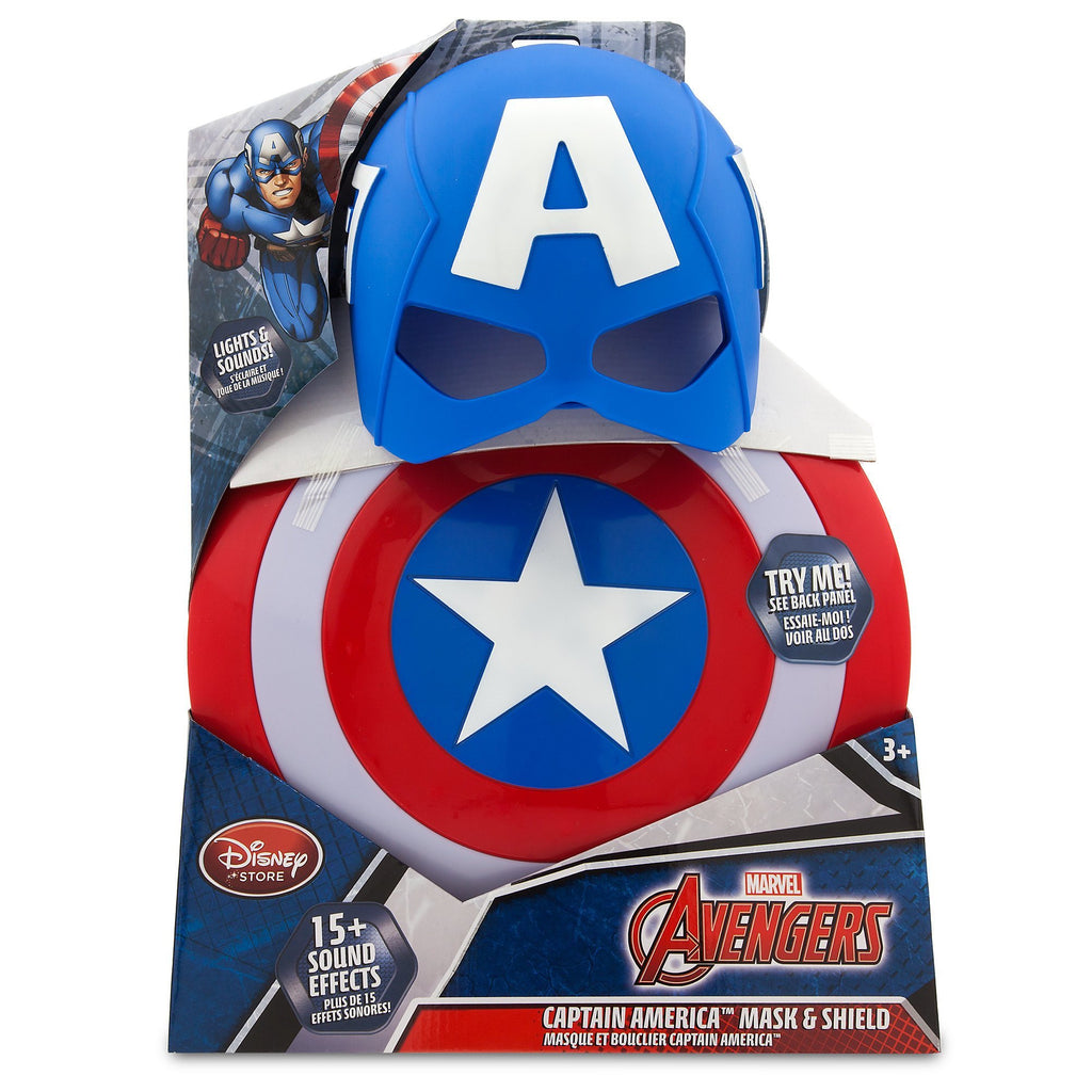 Disney Captain America Mask & Shield Set - PitaPats.com