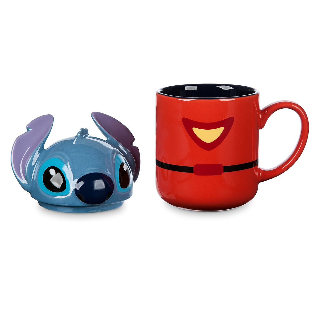 Disney Stitch Mug with Lid - PitaPats.com
