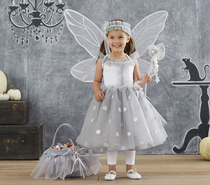 PitaPat Silver Fairy Halloween Costume 7-8 - PitaPats.com