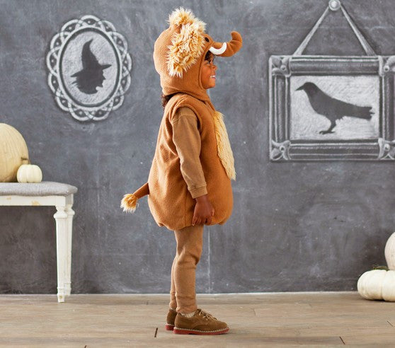 PitaPat Woolly Mammoth Halloween Costume, size 7-8 - PitaPats.com