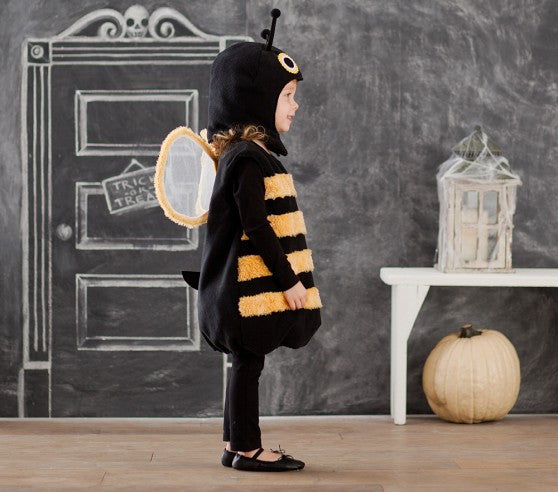 PitaPat Bumblebee Halloween Costume, size 7-8 - PitaPats.com