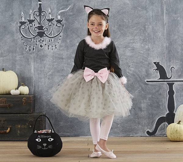 PitaPat Gray Kitty Tutu Costume 4-6 - PitaPats.com