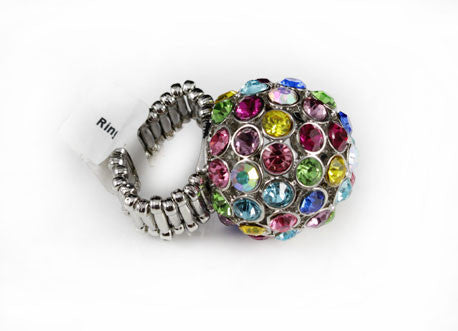 Disco ball Cocktail Ring - PitaPats.com