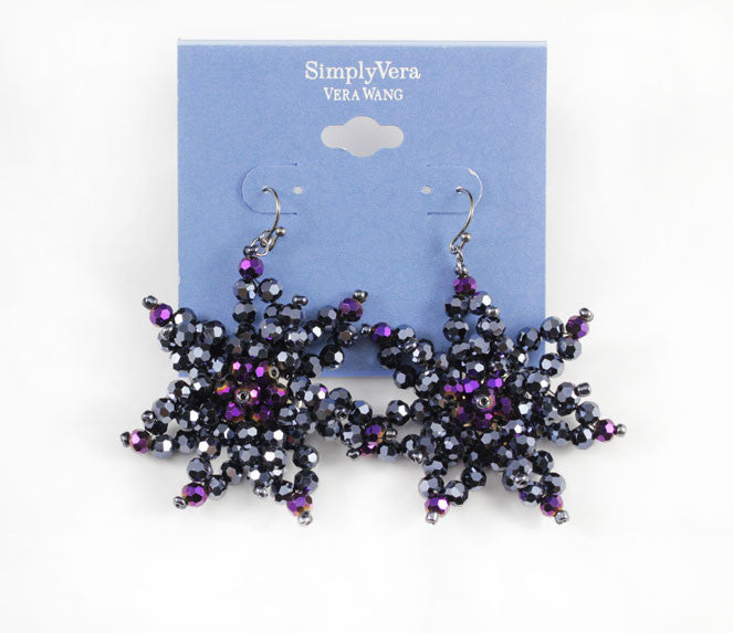Simply Vera Vera Wang Big Star Flower Earring - PitaPats.com