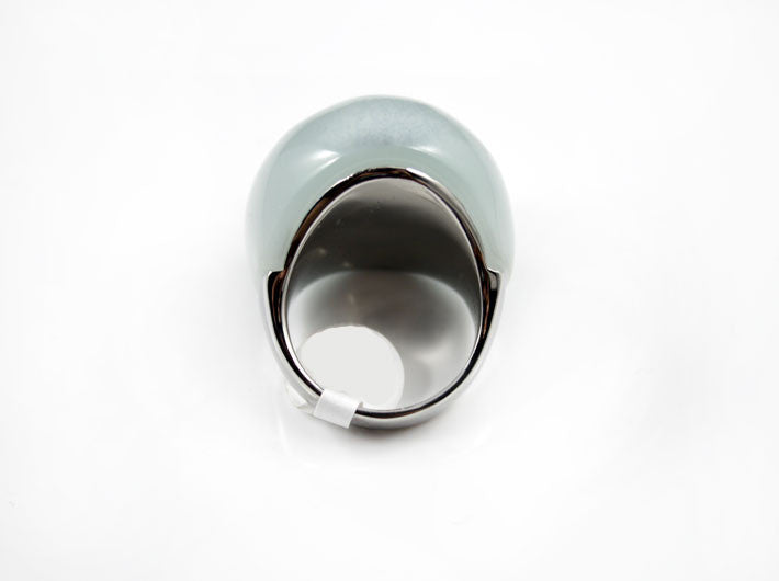 Light Gray Dome Cocktail Ring - PitaPats.com