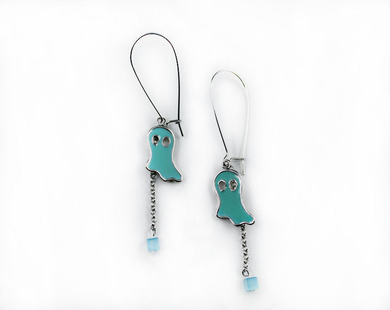 "Ghost ""Boo"" Earrings - PitaPats.com"