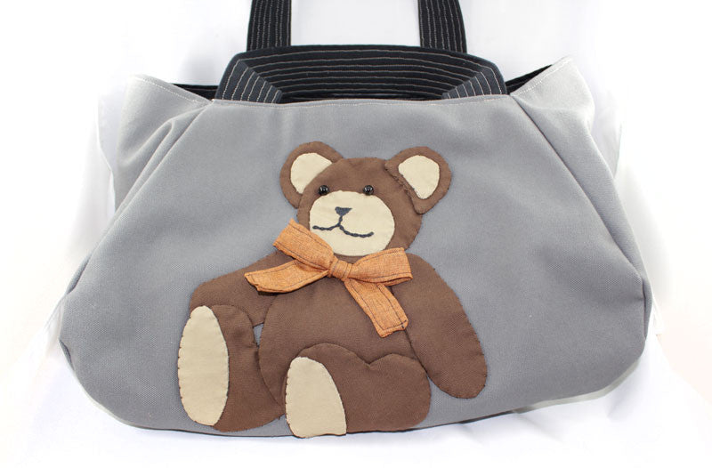 Teddy Bear Four Sided Bag - PitaPats.com