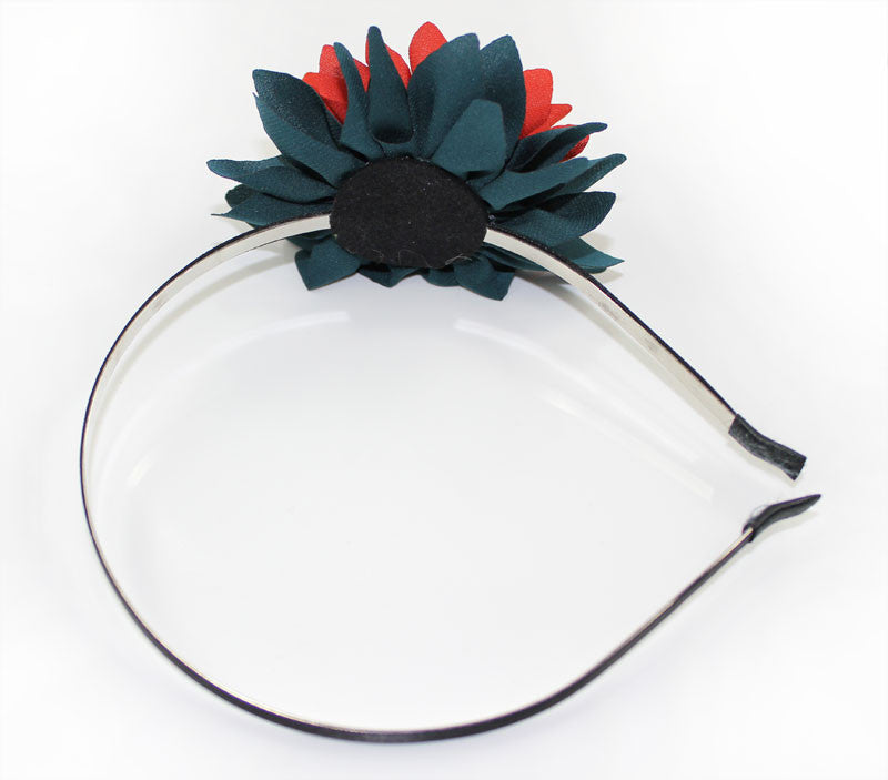 Red Dahlia Headband - PitaPats.com