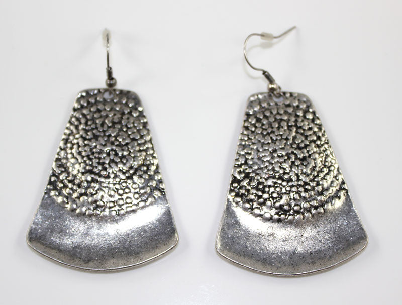 Indian Bell Shape Silver Earring - PitaPats.com