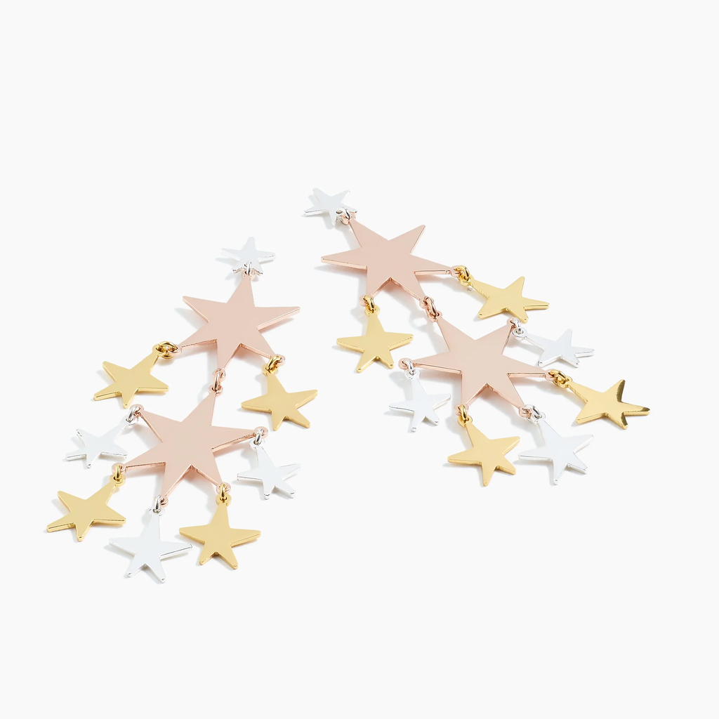 J.crew Falling star earrings