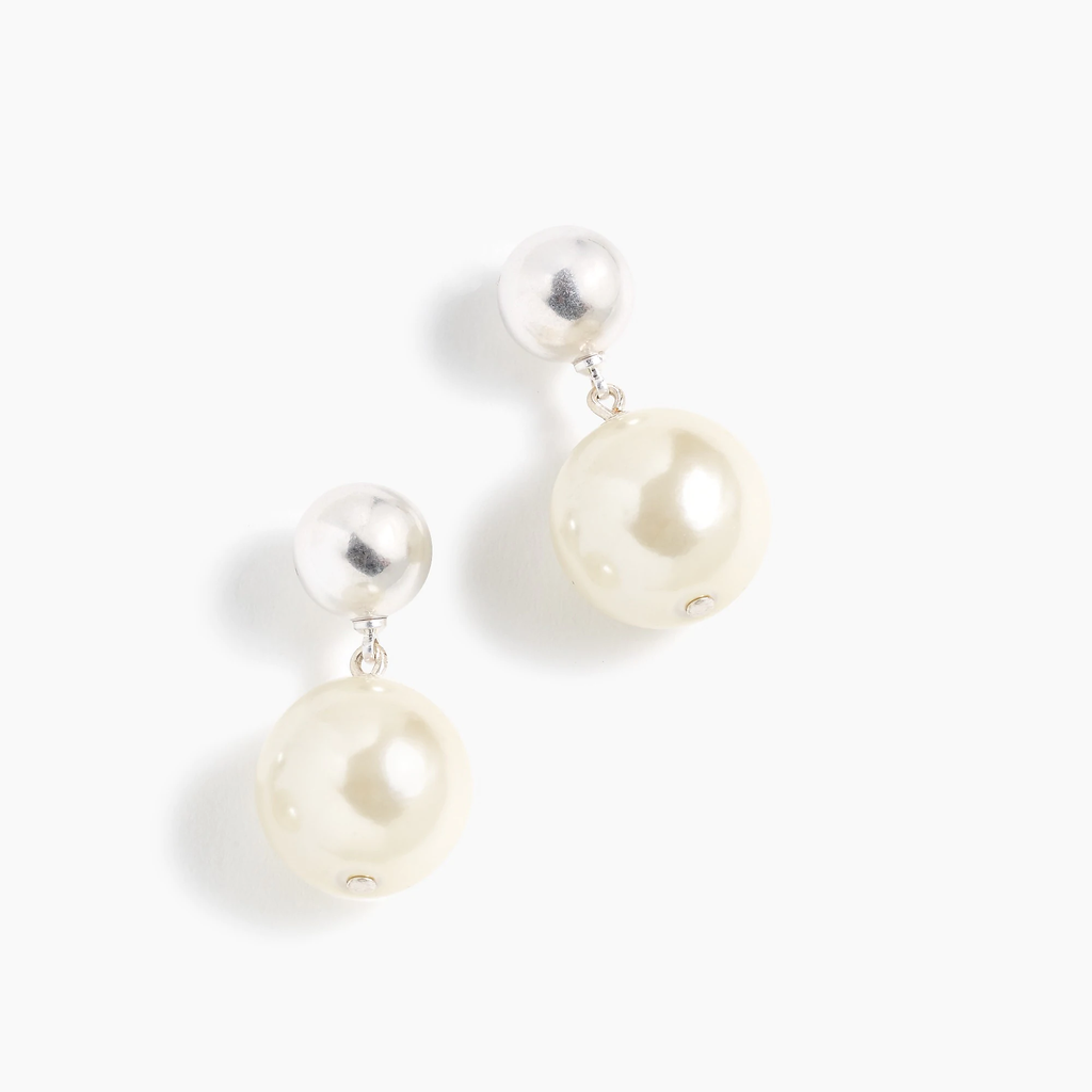 J.crew Pearl drop earrings