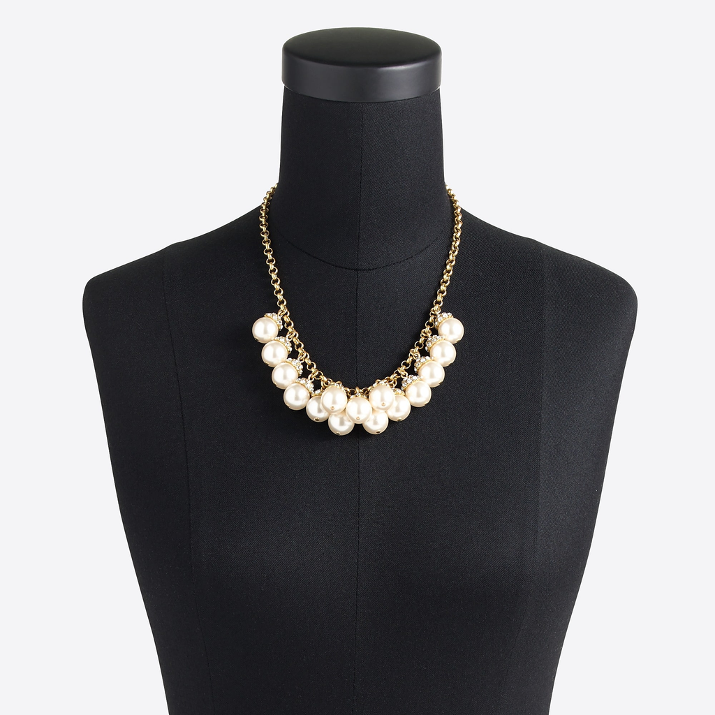J.Crew Pearl accent necklace
