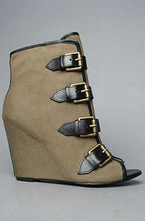 Ash Shoes - The Jezebel Shoe in Military and Black - PitaPats.com