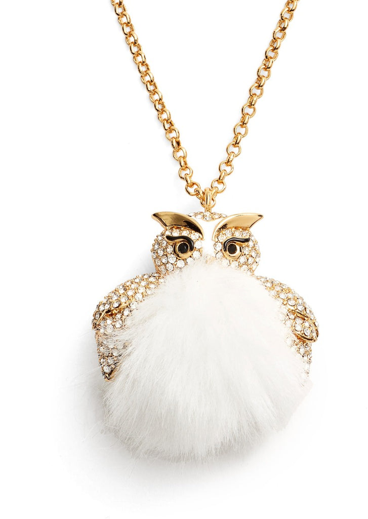 kate spade new york - star bright owl pendant