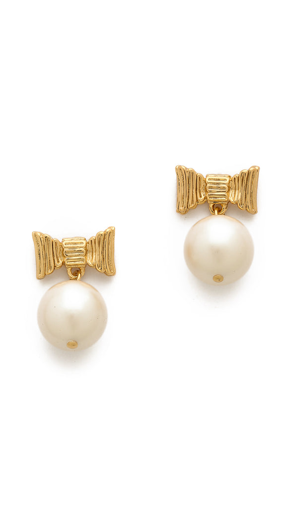 kate spade new york - all wrapped up in pearls drop earrings