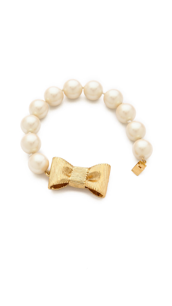 kate spade new york - all wrapped up in pearls bracelet