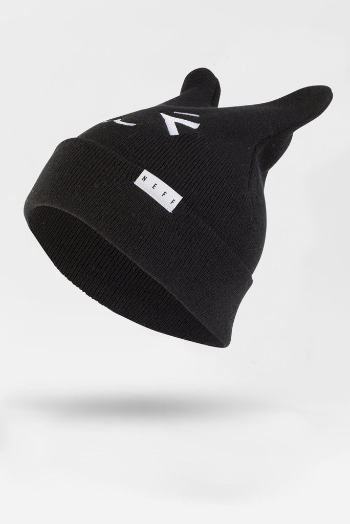 NEFF KITTY BEANIE Black
