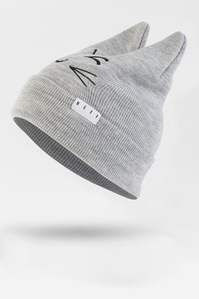 NEFF KITTY BEANIE Grey
