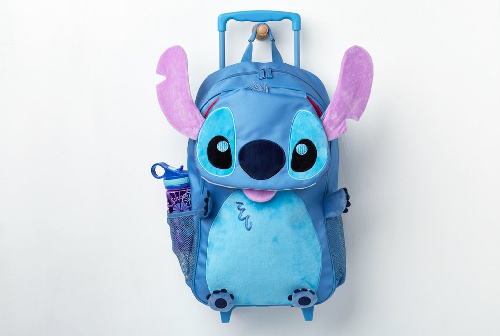 Disney Stitch Rolling Backpack 3D - Lilo and Stitch