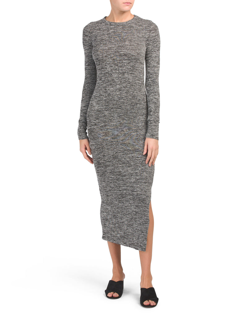 French Connection SWEETER SWEATER BODYCON MIDI DRESS