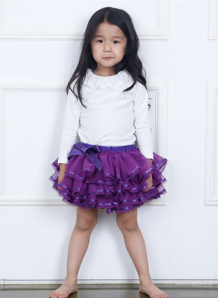 PITaPATs Handmade mini Tutu Skirt for Girls Type B