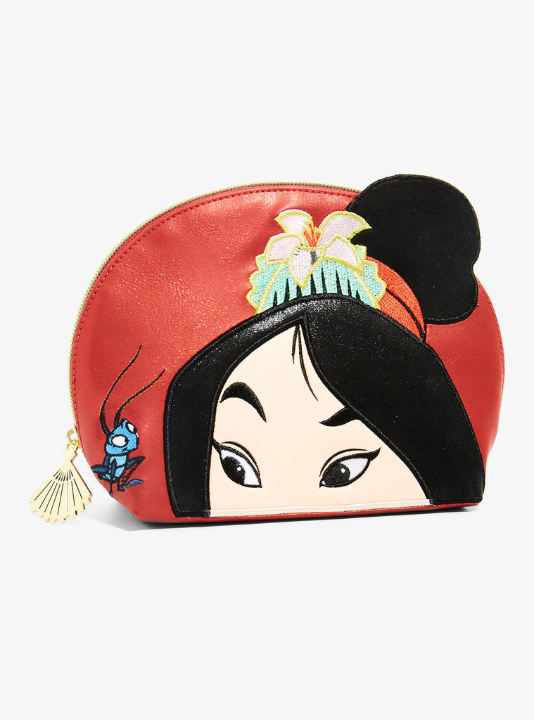 Danielle Nicole Disney Mulan Makeup Bag