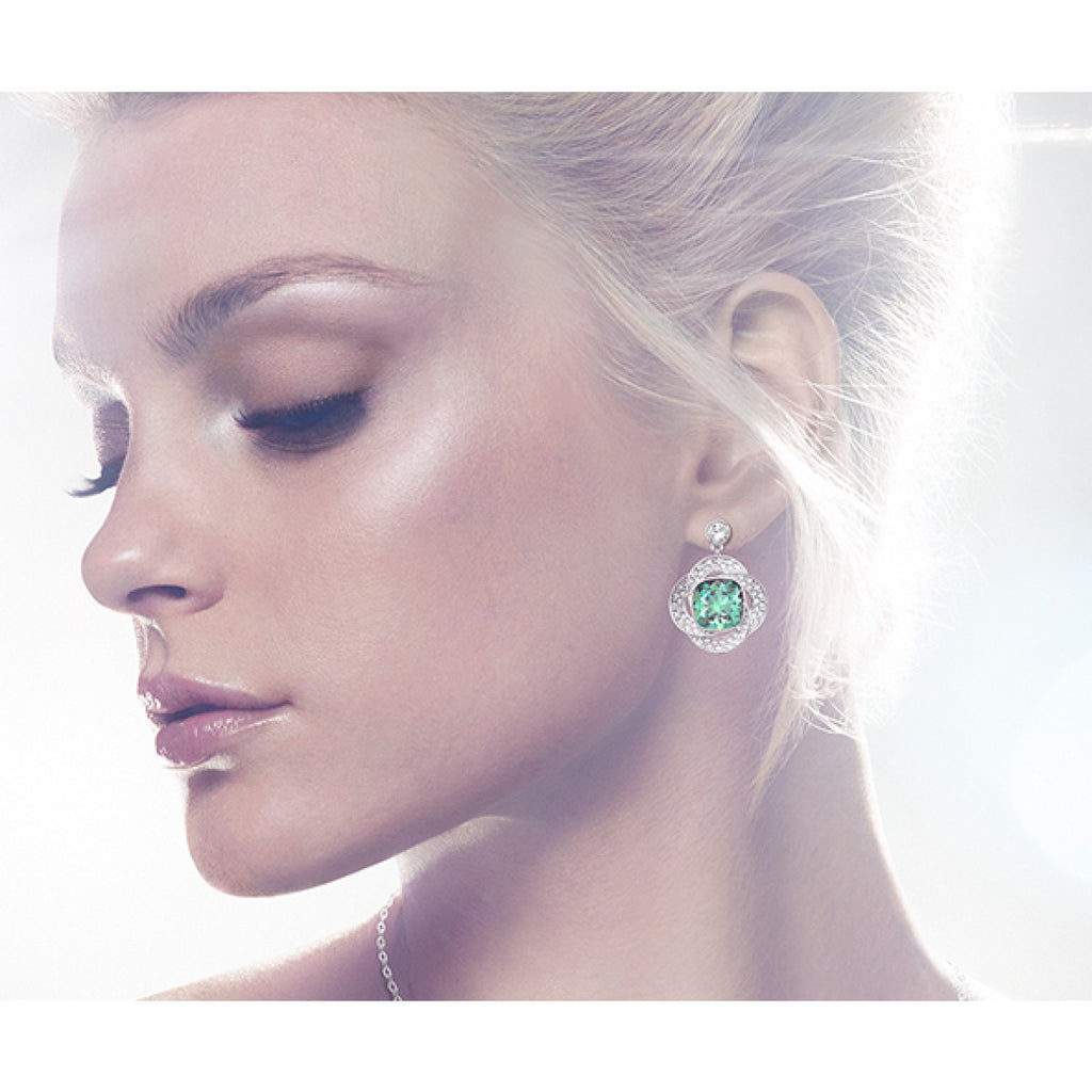 Swarovski Agility Erinite Pierced Earrings