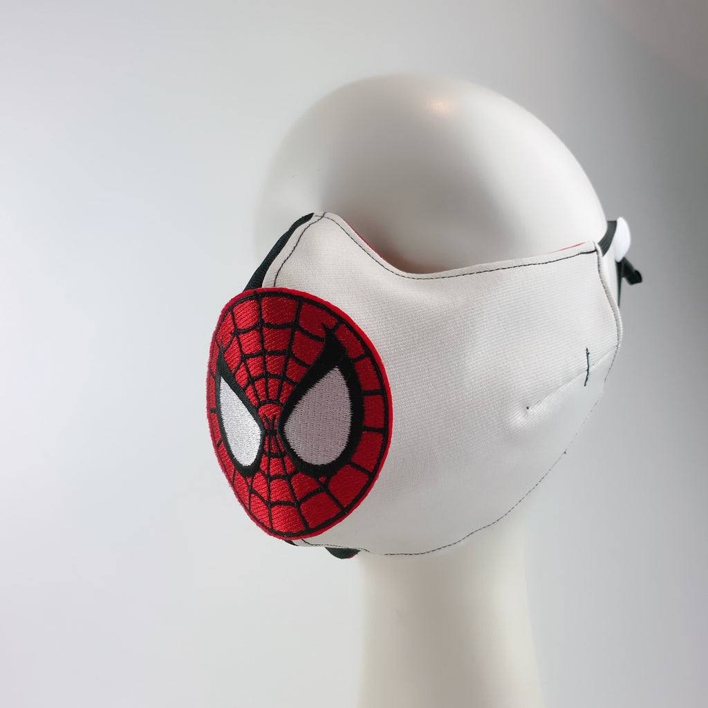 Mask 4 Protect Face Mask Spider Man Contrast Black & White