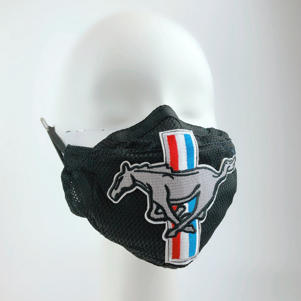 Mask 4 protect Face Mask in Hot Weather Stripe Horse