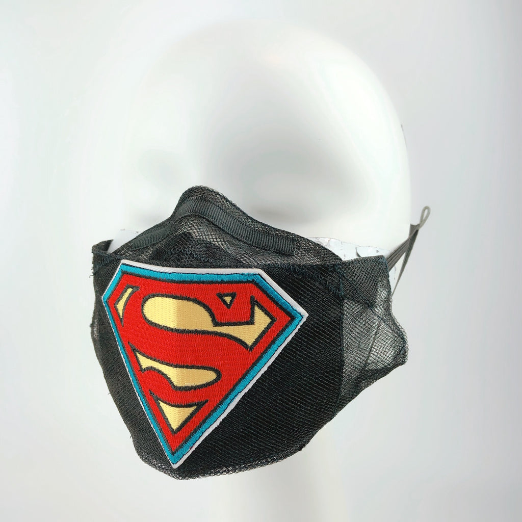Mask 4 protect Face Mask in Hot Weather Cool Superman