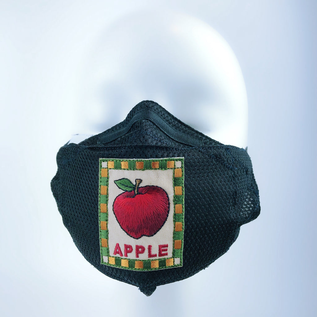 Mask 4 protect Face Mask in Hot Summer Weather Apple