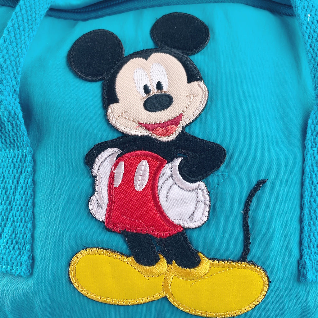 Madden Girl Mickey Mouse Solid Backpack - LIGHT BLUE
