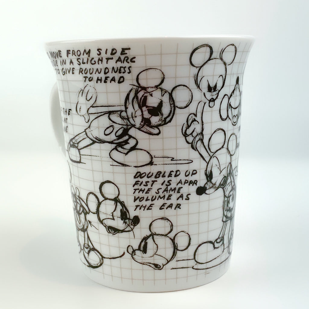 Zrike Disney® Sketch book Mickey Mouse Mug 14 oz.