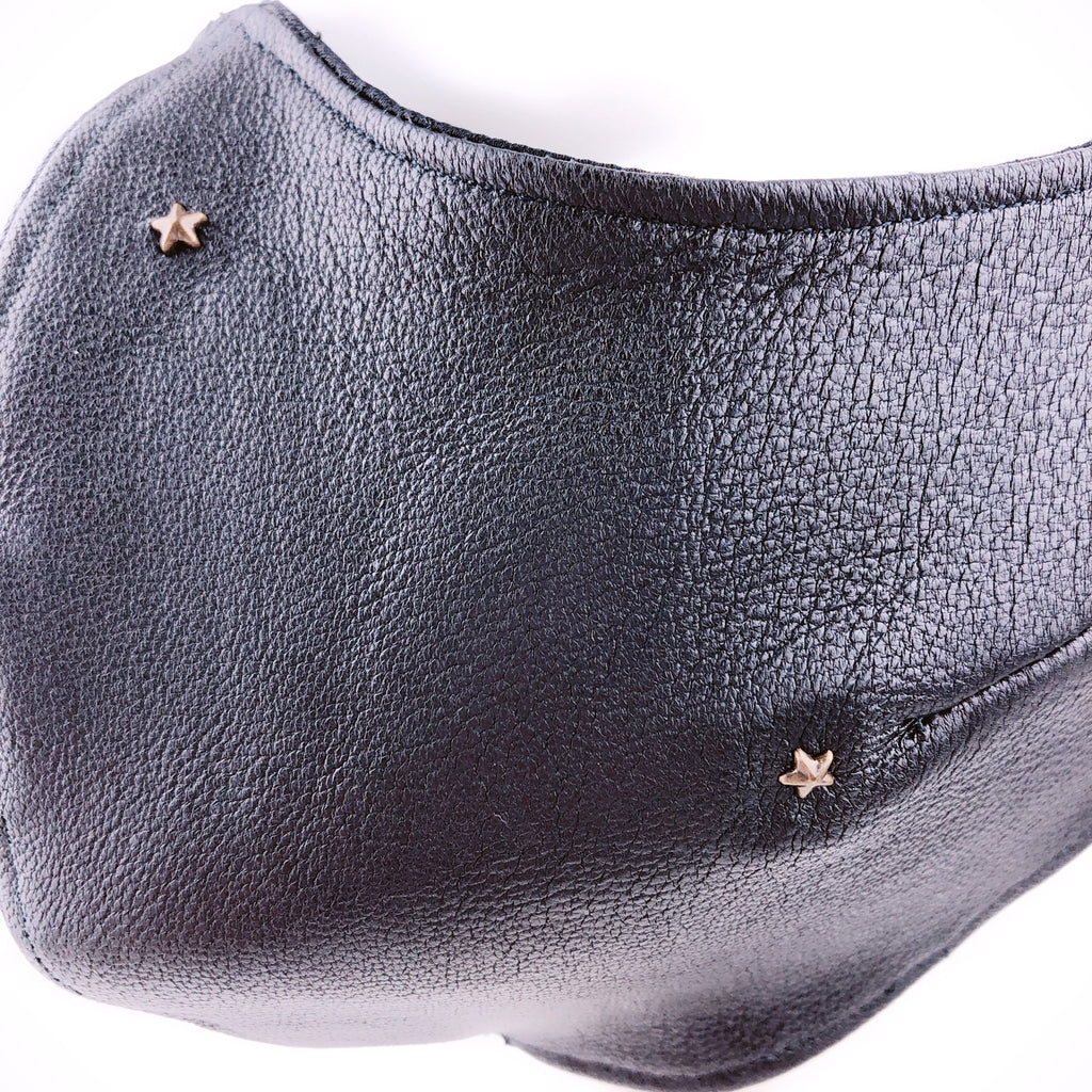 Mask 4 Protect Stars 100% Italian Leather Face Mask