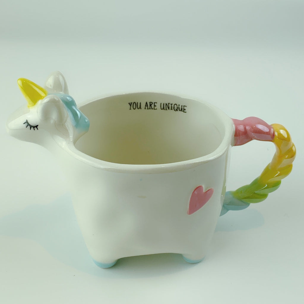 Tag Rainbow Standing Unicorn Mug Cup 14oz