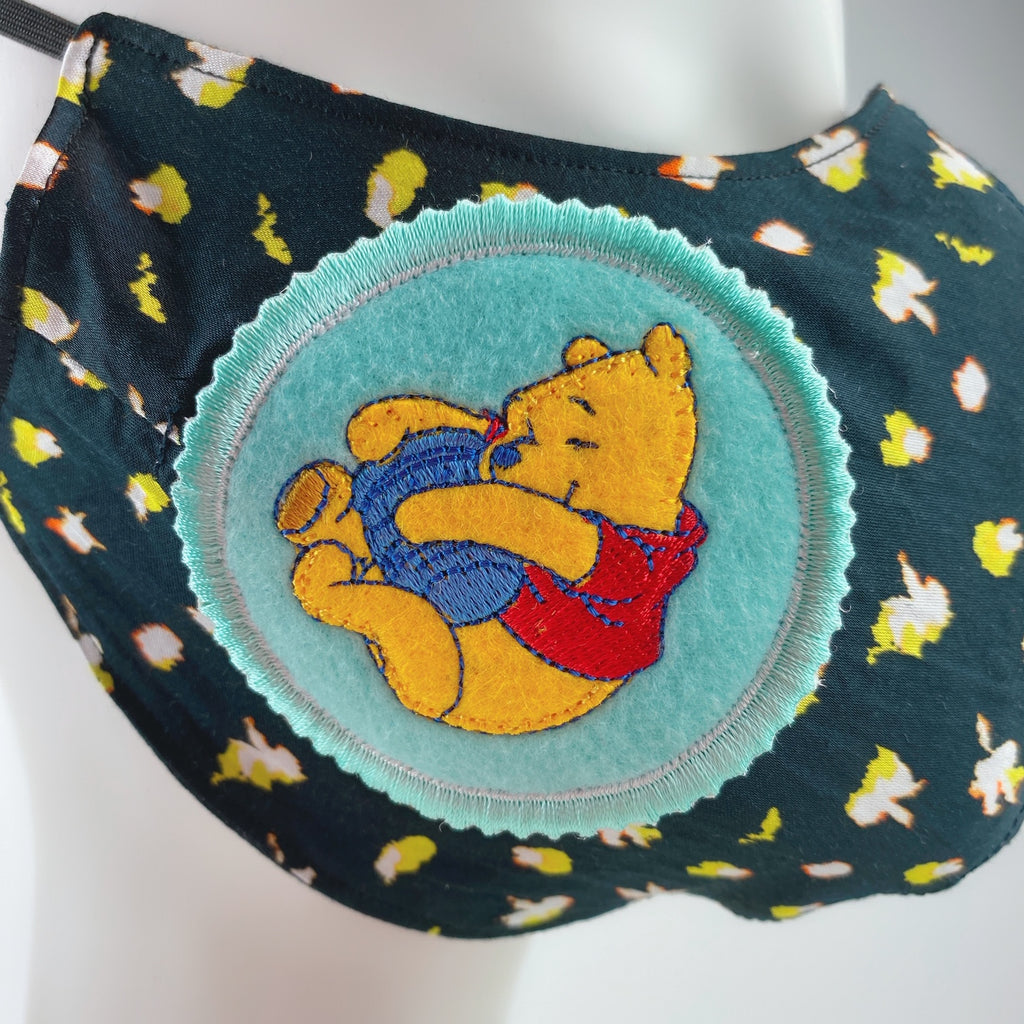 Face Mask 4 Protect Disney Winnie-the-Pooh on Flower