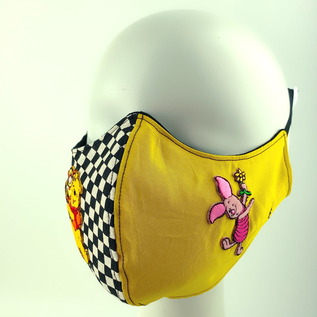 Mask 4 Protect Disney Winnie-the-Pooh and Piglet Face Mask