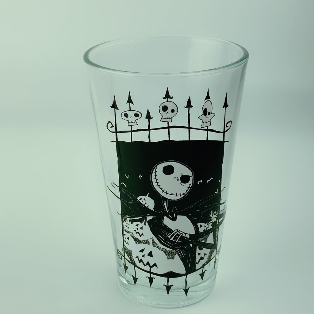 2 Pc Pub Pint Glass Set Nightmare Before Christmas Standard