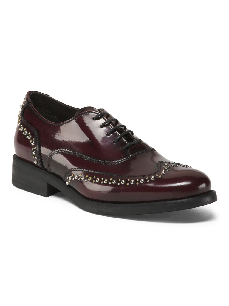 BOEMOS Made In Italy Leather Oxfords - PitaPats.com