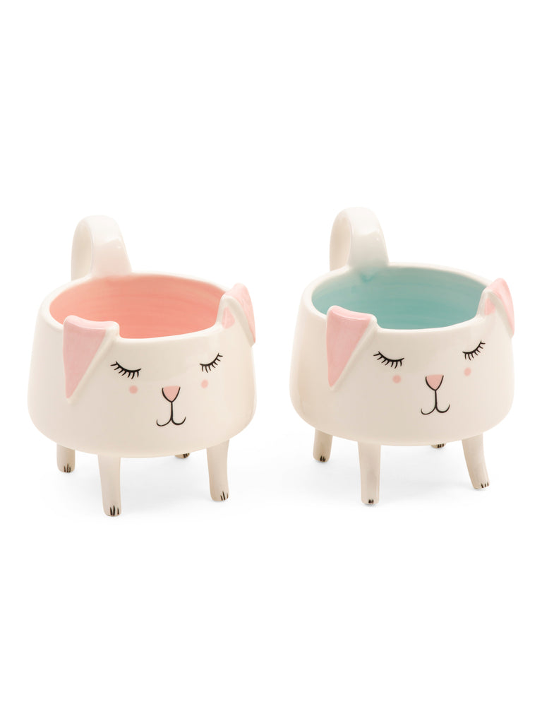 ARLINGTON DESIGNS Set 2 Bunny Mugs