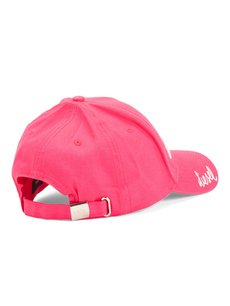 DIESEL Girls Pink 'Anti-Princess' Dad Hat - PitaPats.com