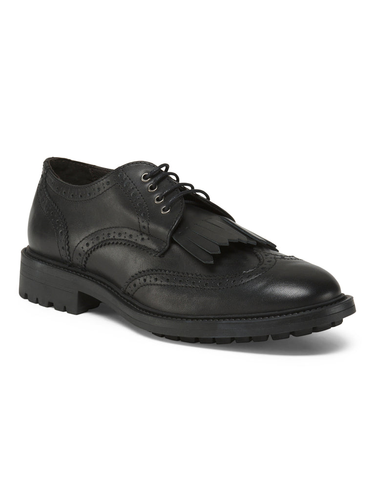 BOEMOS Made In Italy Menswear Leather Oxfords - PitaPats.com