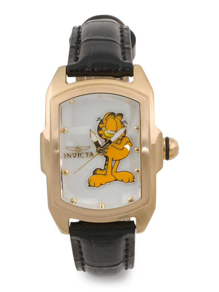 INVICTA Women's Garfield Leather Strap Watch - PitaPats.com