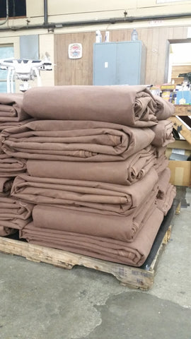 16oz - 2' Reinforced Grommets- Finish Size