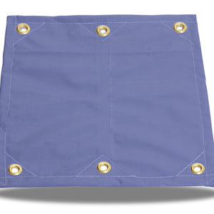 Super-Strong Poly - 16.5mil - Grommets - Blue - Tarp Trader