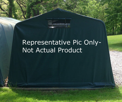 Custom Carport Cover 18oz Vinyl Coated - Tarp Trader