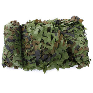5M x 1.5M Outdoor Sun Shelter Net CAMOUFLAGE Netting Hunting Woodland Jungle Tarp Car-covers Tent  sun Shelter